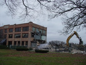 Union Corners: Rayovac Building Comes Down